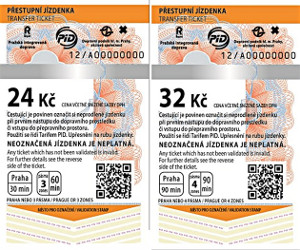 Ticket Prague